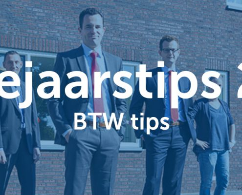 Eindejaarstips 2017 - BTW tips