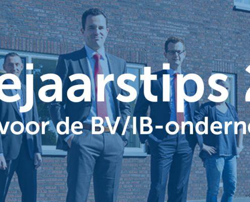 Eindejaarstips 2017 - Tips voor de BV/IB-ondernemer